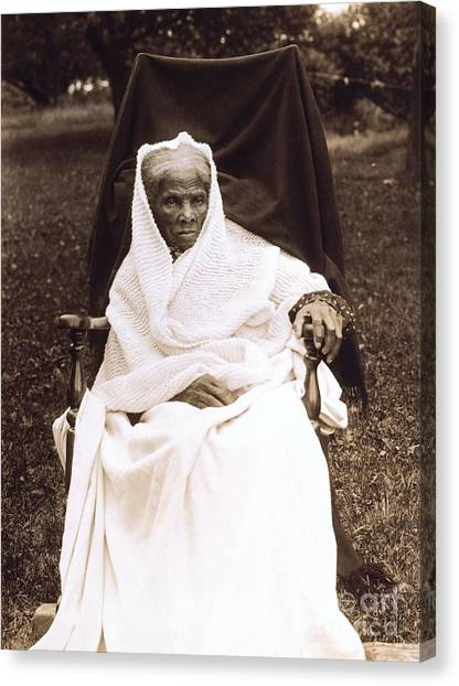 Racism Canvas Print - Harriet Tubman Portrait 1911  by Unknown