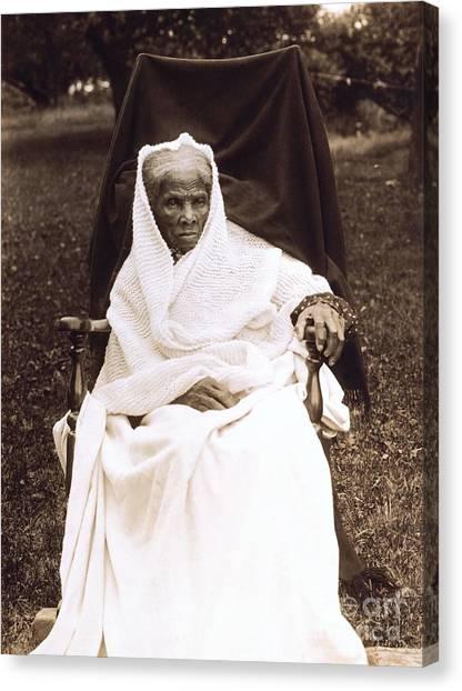Slavery Canvas Print - Harriet Tubman Portrait 1911  by Unknown