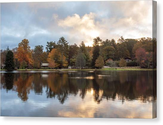 Harris Lake Highlands Nc Canvas Print