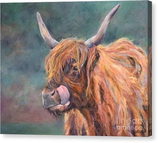 Harry Coo Canvas Print by Stephanie Allison