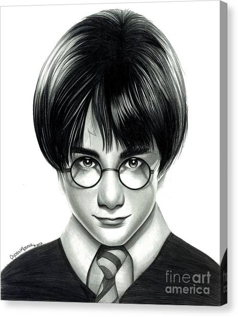 Harry Potter And The Philosopher's Stone Canvas Print