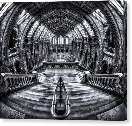 Palace Canvas Print - Harry Potter Meets Escher And Darwin. by Massimo Cuomo