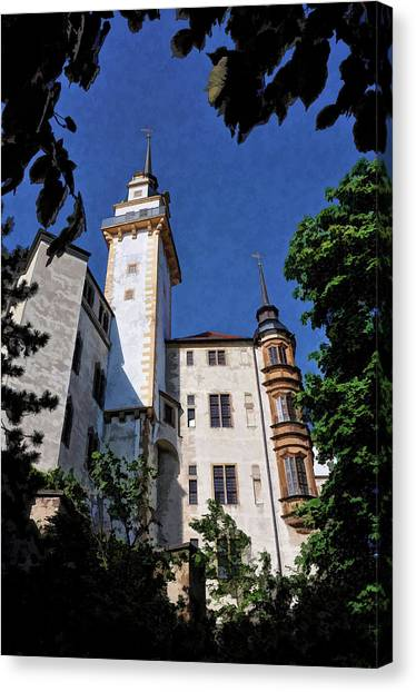 Hartenfels Castle - Torgau Germany Canvas Print
