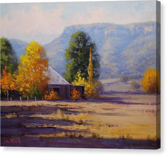 Amber Canvas Print - Hartley Autumn by Graham Gercken