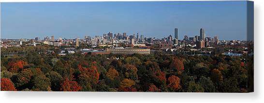 Harvard University Canvas Print - Harvard Stadium by Juergen Roth