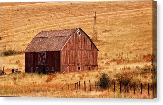 Harvest Barn Canvas Print