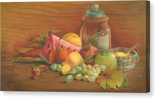 Harvest Fruit Canvas Print