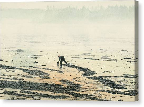Harvesting The Flats Canvas Print