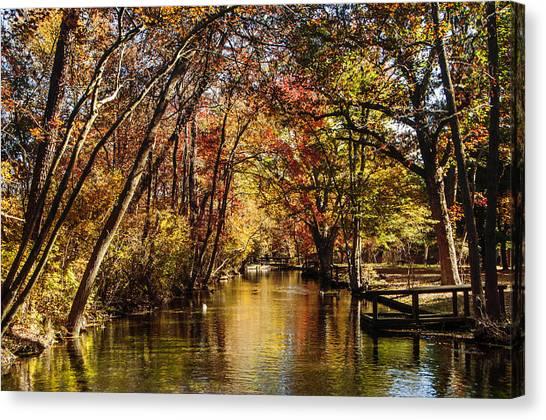 Hatchery In Autumn Canvas Print
