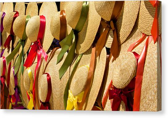 Hats Galore Canvas Print by Kathi Isserman