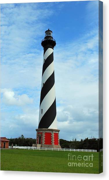 Hatteras Lighthouse Canvas Print