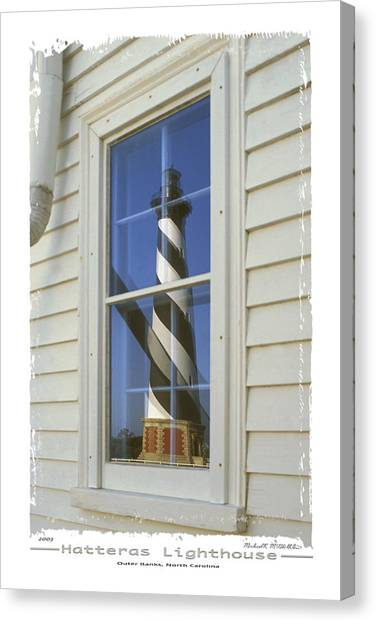 Cape Hatteras Lighthouse Canvas Print - Hatteras Lighthouse  S P by Mike McGlothlen