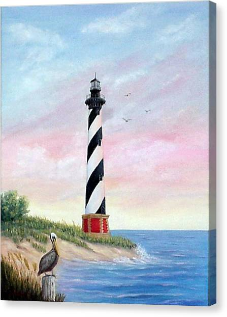 Hatteras Sunrise Canvas Print
