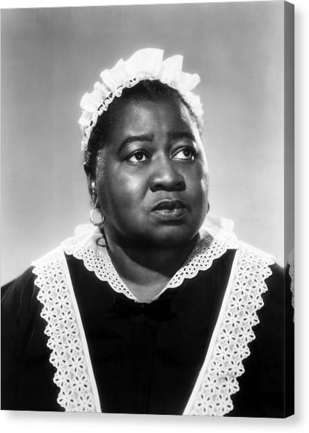 Gone With The Wind Canvas Print - Hattie Mcdaniel In Gone With The Wind  by Silver Screen