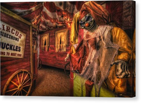 Haunted Circus Canvas Print