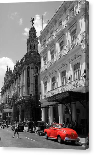 Prado Canvas Print - Havana 5 by Andrew Fare