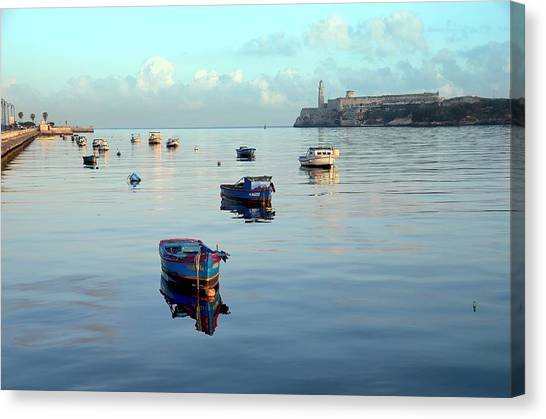 Havana Maritime 2 Canvas Print