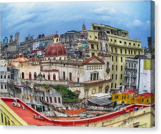 Havana Urban Expression Canvas Print