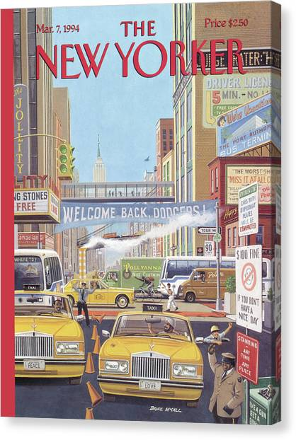 New Yorker March 7th, 1994 Canvas Print