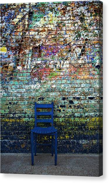 Have A Seat 2 Canvas Print by Kelly Kitchens