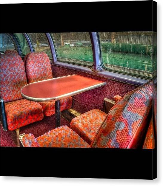 Trainspotting Canvas Print - Have A Seat by David Ferguson