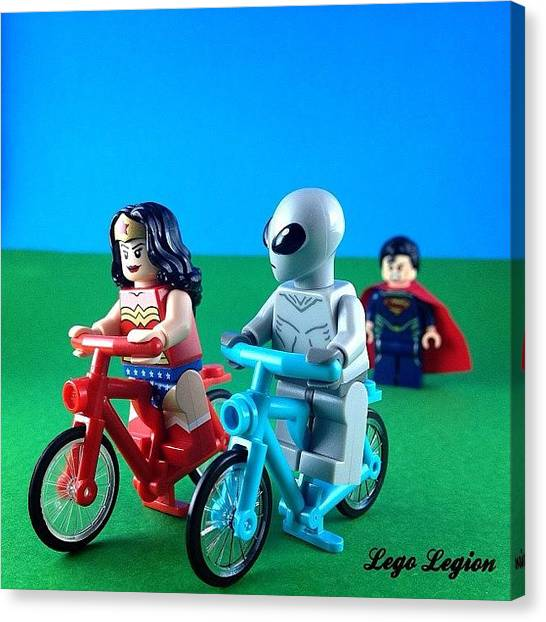 The Legion Canvas Print - Have You Entered The by Lego Legion