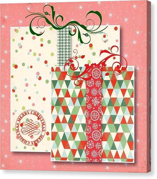 Presents Canvas Print - Have You Wrapped All Of Your #presents by Teresa Mucha