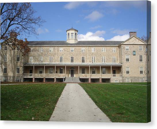 Haverford Canvas Print - Haverford College by Georgia Fowler