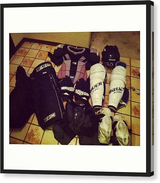 Keeper Canvas Print - Having To Pack My Guy's Gear=sending by Megan Hahn