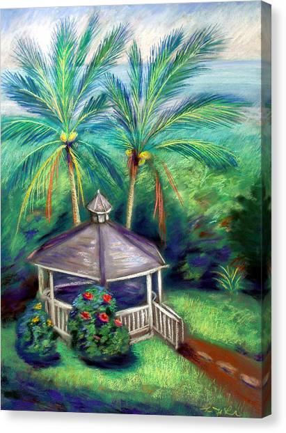 Island .oasis Canvas Print - Hawaii Hideaway by Karin  Leonard