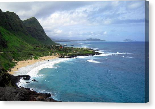 Hawaiian Coastline Canvas Print