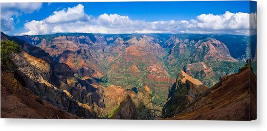 Hawaiian Grand Canyon Canvas Print