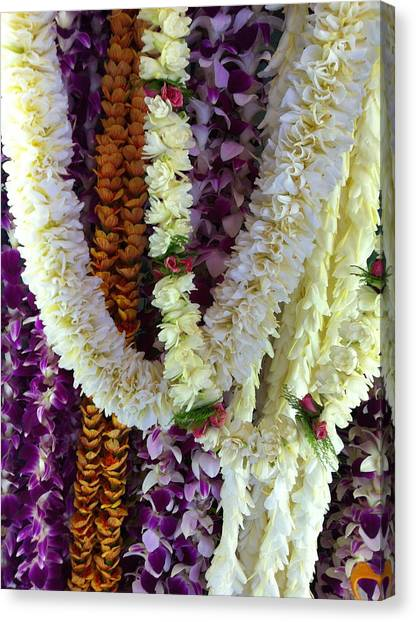 Hawaiian Leis Canvas Print