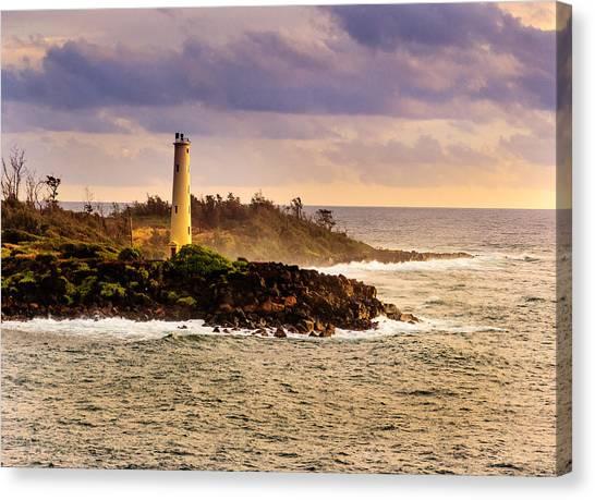 Hawaiian Lighthouse Canvas Print