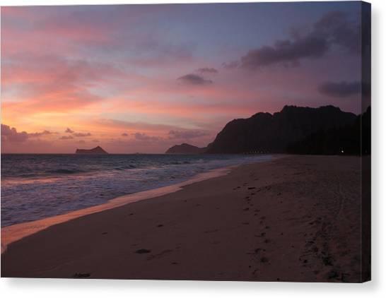 Hawaiian Sunrise Canvas Print by Adam Levine