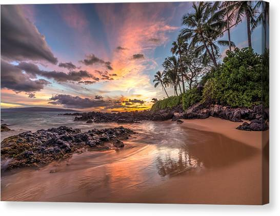 Hawaiian Sunset Wonder Canvas Print