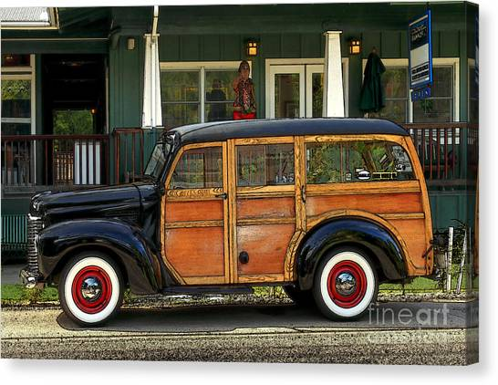 Hawaiian Woody Canvas Print