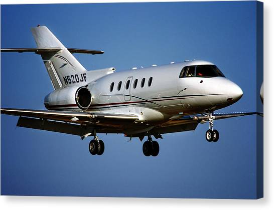 Hawker 800xp Canvas Print