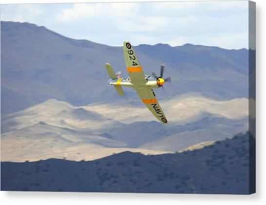 Hawker Sea Fury T Mk.20 At Reno Air Races Canvas Print