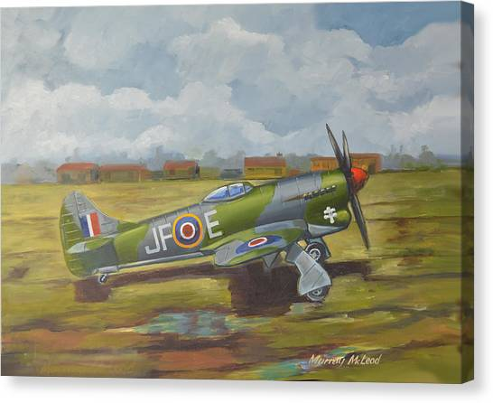 Hawker Tempest Canvas Print