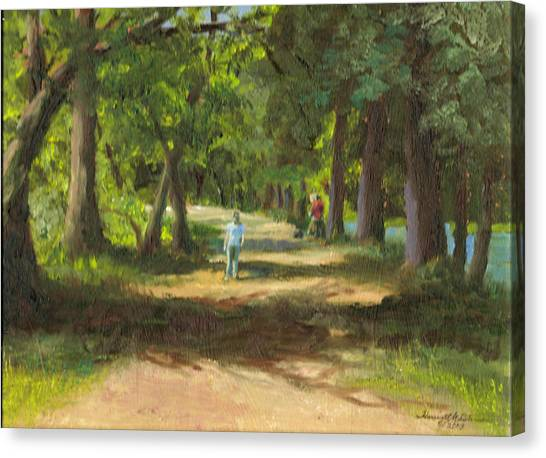 Hayden Shaded Path Canvas Print