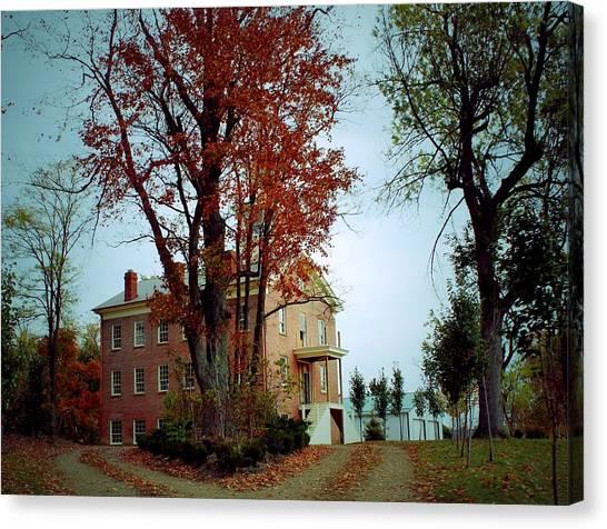 Hayesville Academy Vermillion Institute Canvas Print