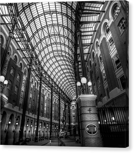 Hay's Galleria Canvas Print by S J Bryant