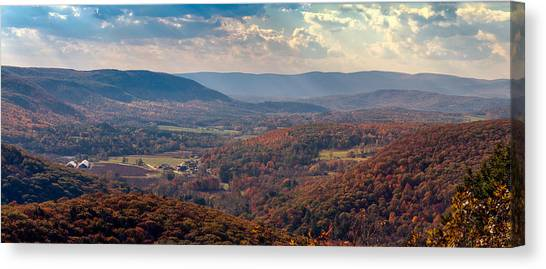 Haystack Mountain Tower View Canvas Print