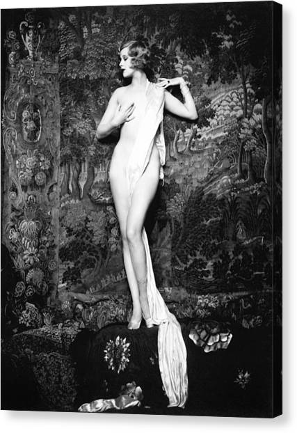Hazel Forbes Miss United States 1926 Canvas Print