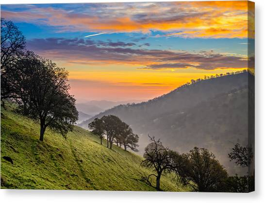 Contra Canvas Print - Hazy East Bay Sunrise by Marc Crumpler