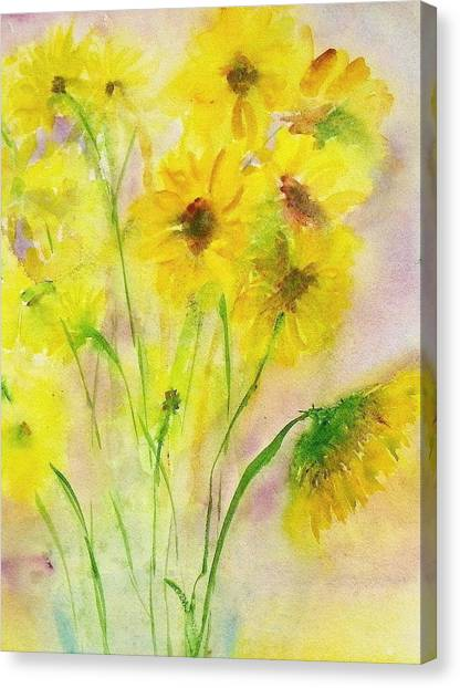 Hazy Summer Canvas Print