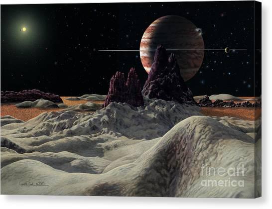 Hd 168443 System Canvas Print