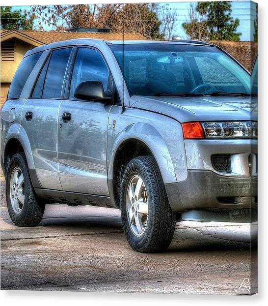 Saturn Canvas Print - #hdr #saturn #vue #nikon #d3100 by Riley Spiller