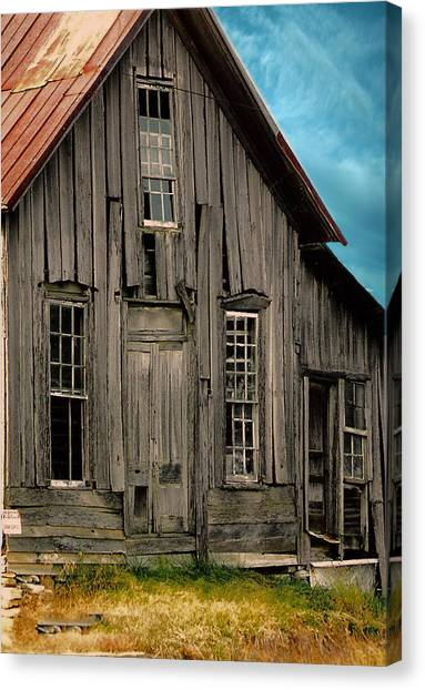 Shack Of Elora Tn  Canvas Print